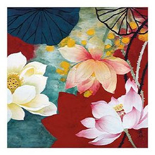 Lotus Dream I Art Print