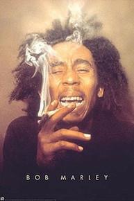 Bob Marley (Ganja) Art Print