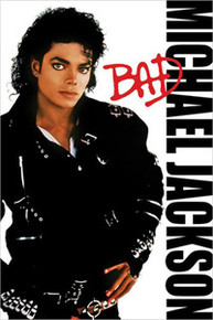 Michael Jackson - Bad Art Poster