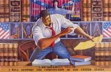 The Advocate Art Print by Ernie Barnes