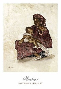 Mother's Lullaby Art Print - Consuelo Gamboa