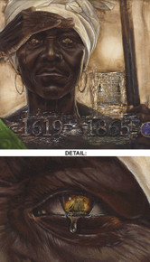 The Worst Sight: Generations Lost Limited Edition Art - Kevin A. Williams - WAK
