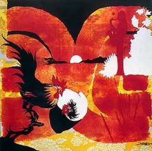 Yardbird Serenade Art Print - Bernard Hoyes