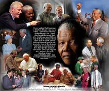 Nelson Mandela Art Print  - Wishum Gregory