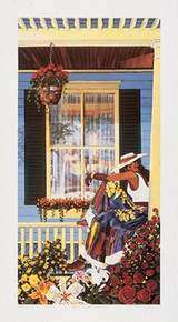 Grandma's Visitor - Limited Edition Art Print - Gigi Boldon