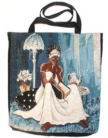 My Cup Runneth Over Tapestry Tote Bag