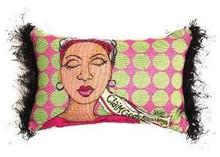 Claim God's Blessing Tapestry Pillow