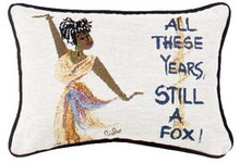 All These Years, Still A Fox Tapestry Pillow