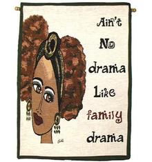 Ain't No Drama Wall Hanging