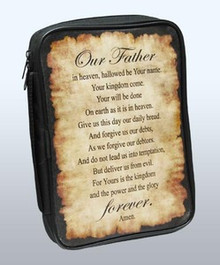 The Lord's Prayer Bible Cover - 81405