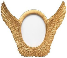 Gold Wings Photo Frame