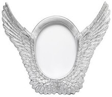 Silver Wings Photo Frame