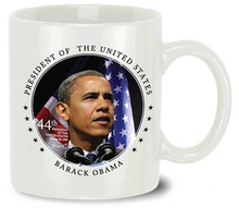 Barack Obama Commemorative Mug