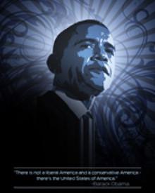 America's Promise Obama Art Print