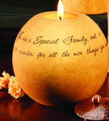 Special Family Comfort Candle
