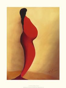La Femme Enceinte Art Print - Patrick Ciranna
