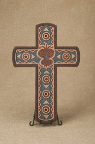 Sankofa Heart Cross