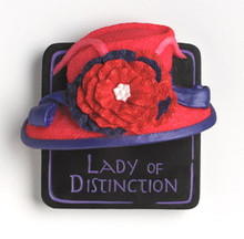 Lady of Distinction - Magnet