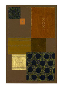 Abstract in Brown I  (medium) Art Print - Chis