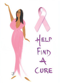 Help Find A Cure magnet - Cidne Wallace