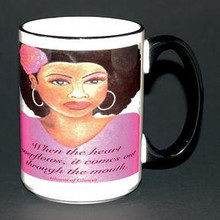 Lady in Pink Mug - Gbaby