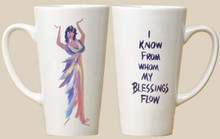 I Know From Whom My Blessing Flow Mug - Cidne Wallace