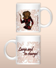 Large and in charge Mug
