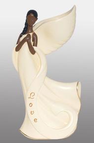 Angel Wing Candleholder: Love