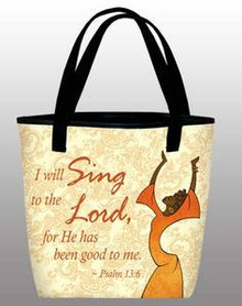 I Will Sing - Inspirational Tote Bag