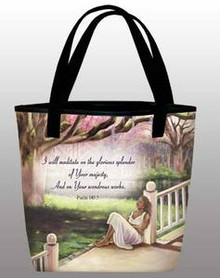 I Will Mediate - Inspirational Tote Bag