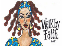 Walk By Faith Magnet - Gbaby