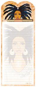 Nubian Queen Magnetic Note Pad & Pen Set