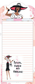 Faithful, Fierce and Fabulous Magnetic Note Pad & Pen Set