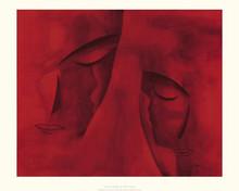 Les Deux Visages (23.6 x 31.5in) Art Print - Patrick Ciranna