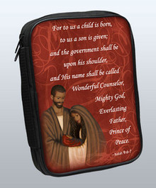 Nativity Isaiah 9:6 Bible Cover - 81417