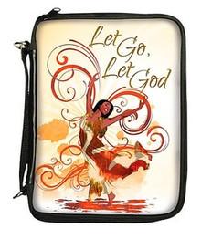 Let Go, Let God Bible Cover - BO-111