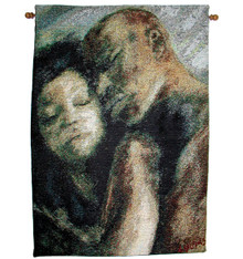 Good Night 18 x 26 Tapestry Wall Hanging