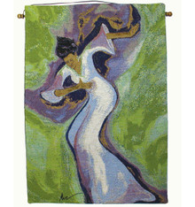 """Holy Lilly 18"""" x 26"""" Tapestry Wall Hanging"""