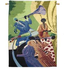 "Piano Man 18"" x 26"" Tapestry Wall Hanging"