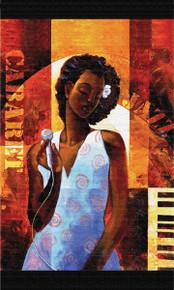 """Diva 34"""" x 54"""" Tapestry Grande Wall Hanging - Keith Mallett"""