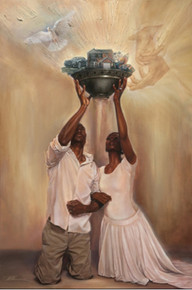 Give It All To God (18 x 12) Art Print - Kevin A. Williams - WAK