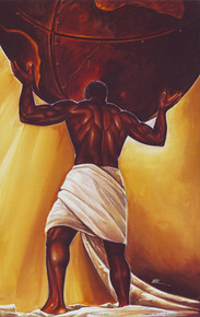 Power Of Man (18 x 12) Art Print - Kevin A. Williams - WAK