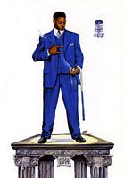 Culture--11.75x18 (Phi Beta Sigma) Art Print - Kevin A. Williams - WAK