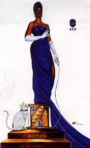 Five Pearls (11.75x18) - Zeta Phi Beta Art Print - Kevin A. Williams - WAK