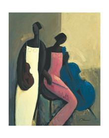 Symphonic Strings(24x30) Art Print - Joseph Holston