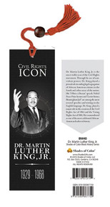 Civil Rights Icon Dr. Martin Luther King Jr. Bookmark