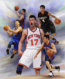 Linsanity Art Print - Wishum Gregory