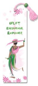 Uplift,Encourage,Empower Bookmark--Cidne Wallace