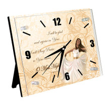 Psalm 9:2 Wall Clock