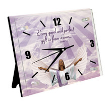 James 1:17 Wall Clock